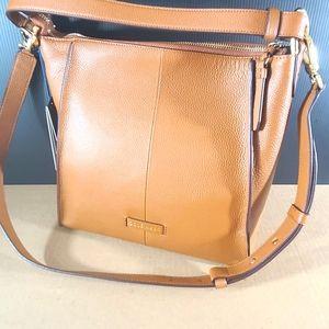 Cole haan grand series shoulder bag.  British tan